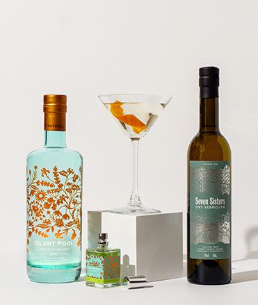 Silent Pool Gin Martini