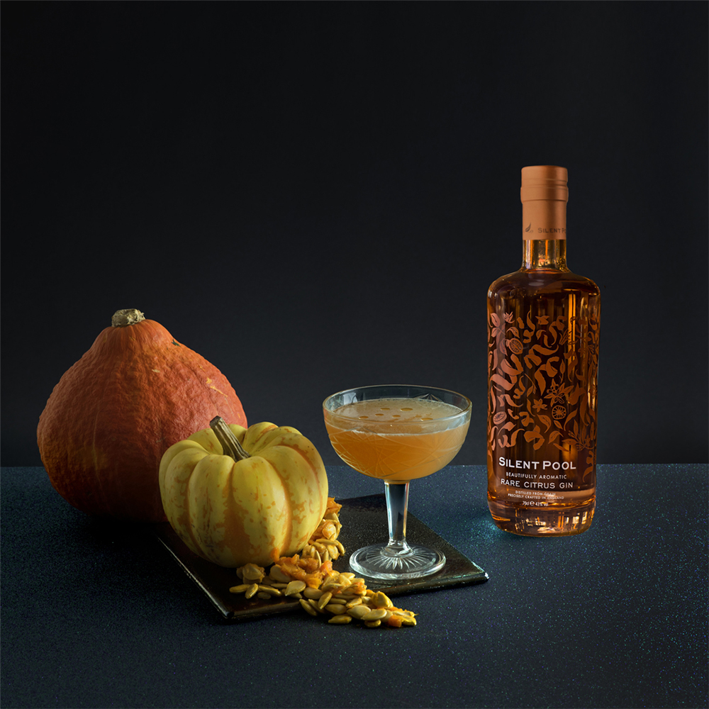 Silent Pool Rare Citrus Halloween Cocktail