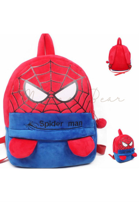 Spiderman Kids Fur Bag (Big)