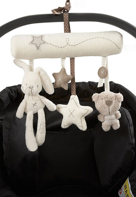 Baby Rattle Animal Hanging Stroller Toy
