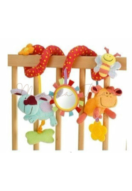 Blossom Farm Wrap Around Friends Crib Toy