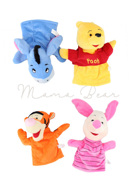 Disney Characters Educational Toy Hand Puppet