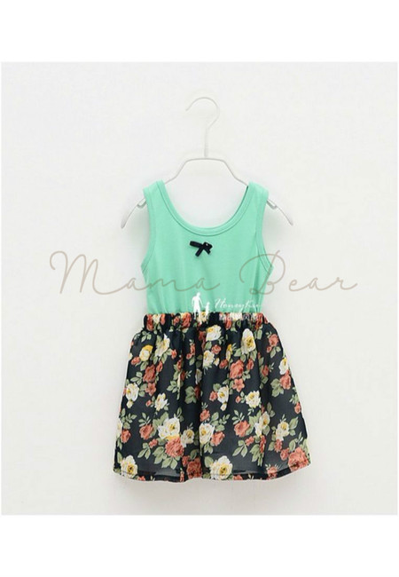 Cotton Floral Kid Dress