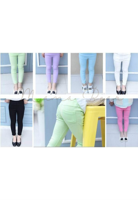 Candy Colored Kid Pants