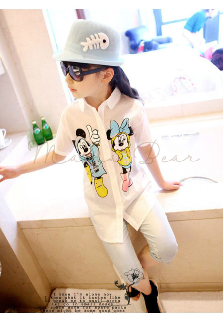 Mickey Minnie Kid Polo