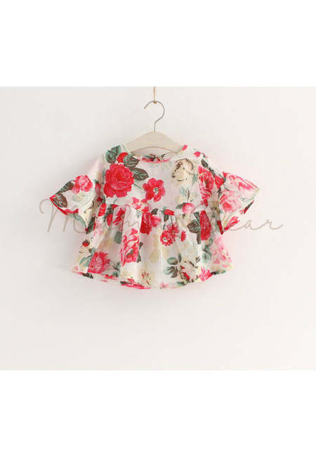 Floral Printed Kid Top