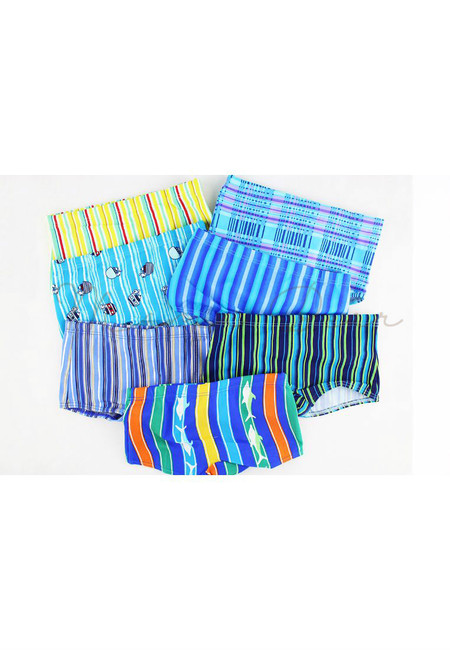 Random Design Kids Swimming Trunks
