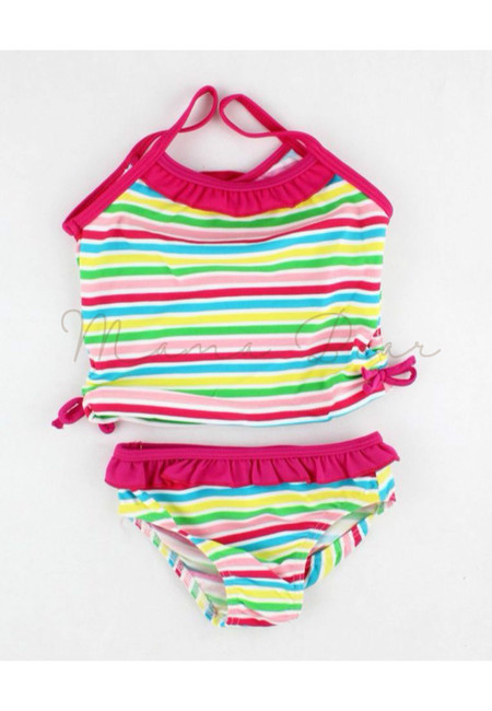 Sweet Stripes Kids Swimwear