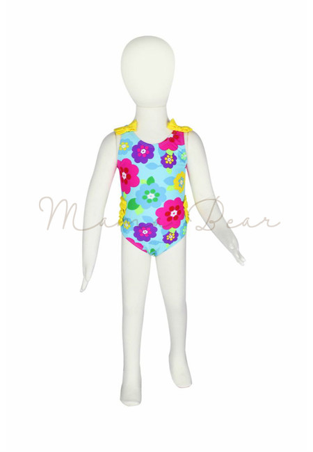Pretty Flower Kids Swimwear with UV Protection 50