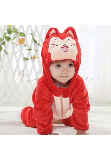 Red Fox Baby Onesies