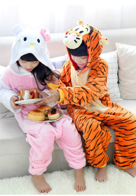 Hello Kitty or Tiger Kids Onesies