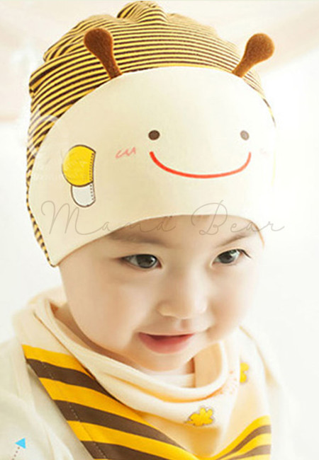 Baby Bee Hat + Bib