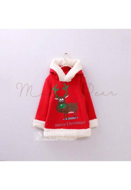 Reindeer Baby Hoodie Sweater