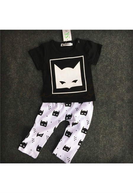 Batman Theme Clothing Set