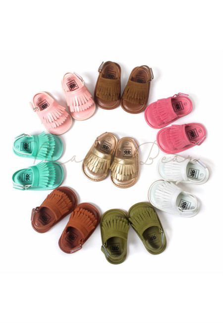 Summer Fringes Baby Sandals