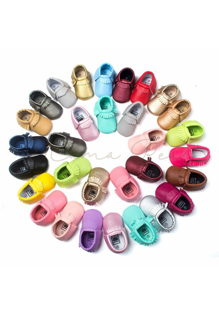 Boho Fringe Baby Classic Shoes