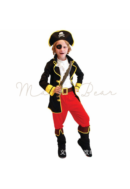 Pirate Cosplay Kid Costume