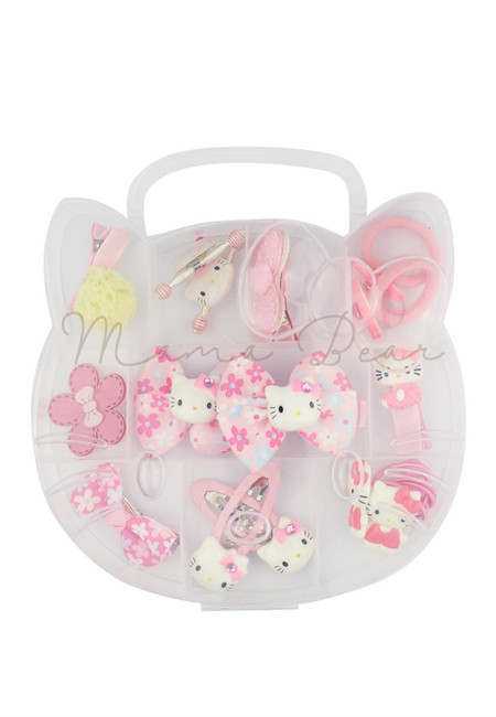 Hello Kitty Theme Kids Hair Accessories Set