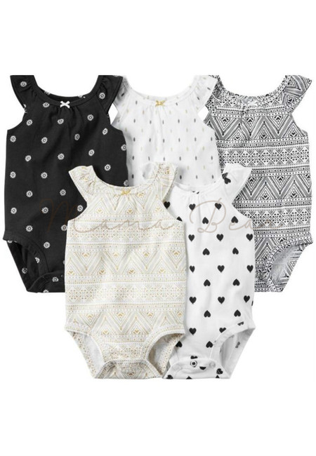 Aztec Designs Baby Romper 5pcs Set