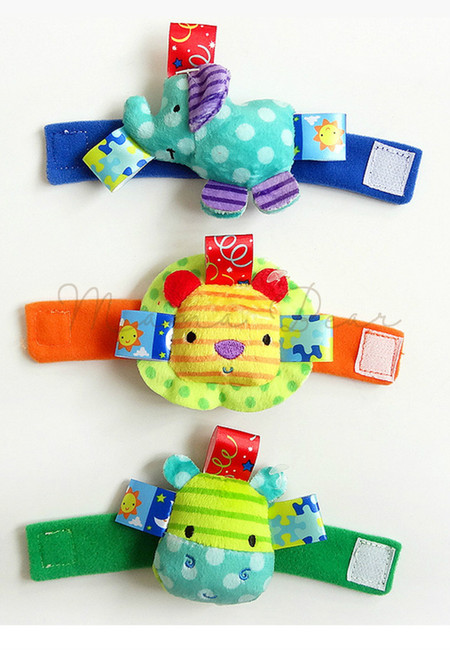Wrist Rattle Baby Educational Toy