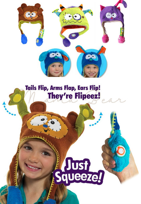 Just Squeeze! Kids Tail Flip Hat