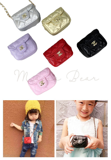 Simple Mini Kids Sling Bag