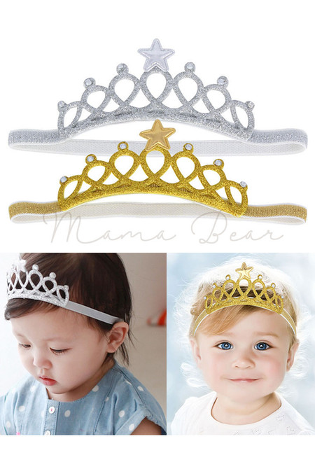 Crown Star Baby/Kids Headband