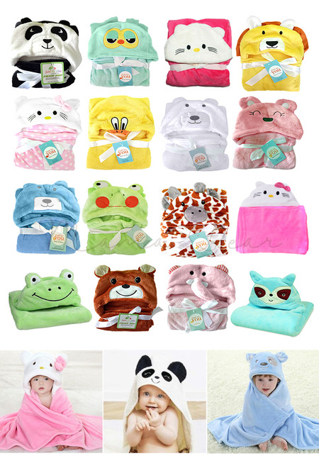 Water Absorbent Baby/Kids Blanket Bath Towels