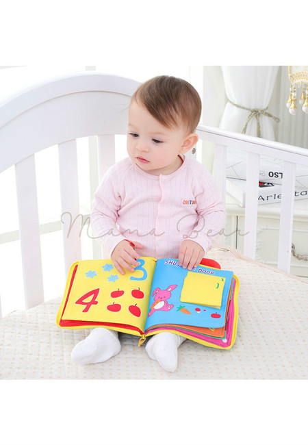 The Counting Book Early Learning Baby Cloth Book