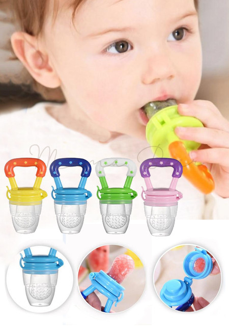 Newborn Babies Feeding Pacifier Fresh Food Feeder