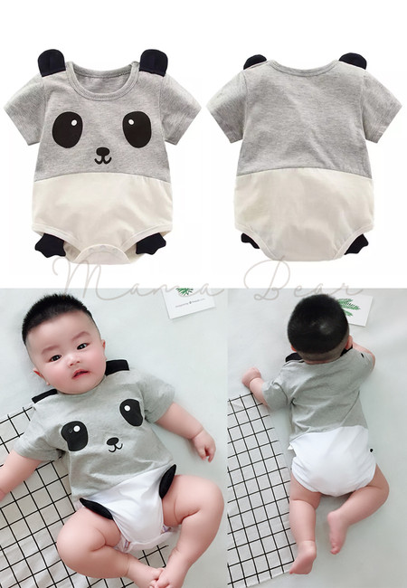Cartoon Animal Onesie Romper Cute Baby Jumpsuit