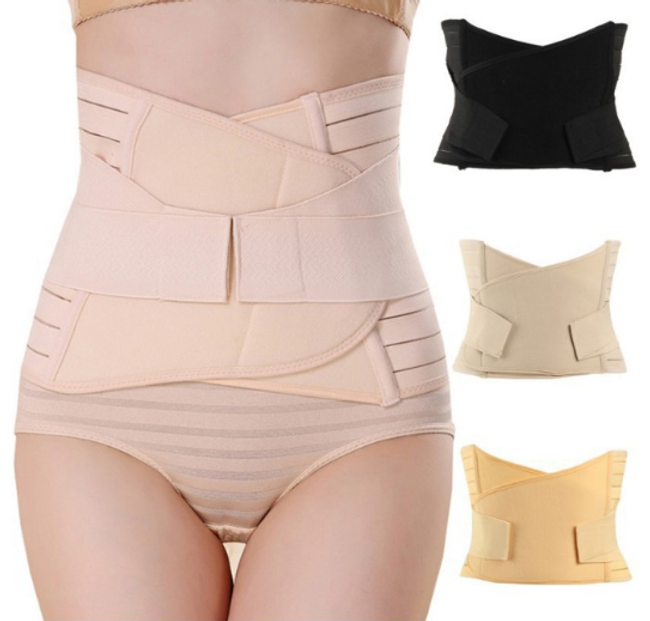 Pregnant Postpartum Girdle Slimming Belt Breathable Tummy Trainer Tummy Trimmer