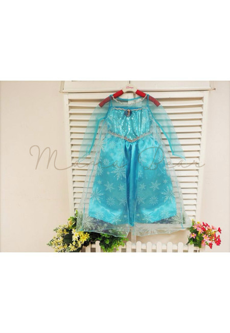 Princess Elsa Mesh Kid Costume