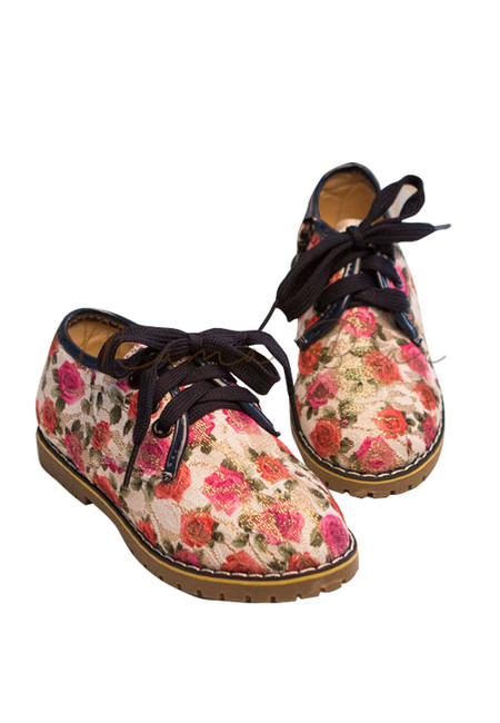 Casual Floral Kid Shoes