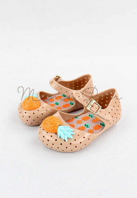 Comfy Pineapple Kid Scented Jelly Shoes
