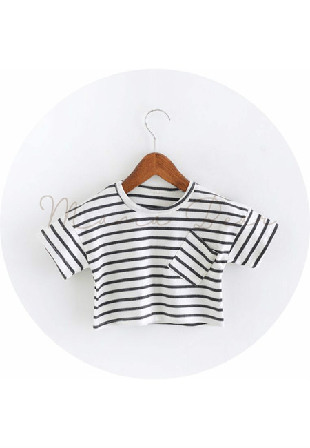 Simple Stripes Kids Top