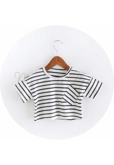 Simple Stripes Kids Top
