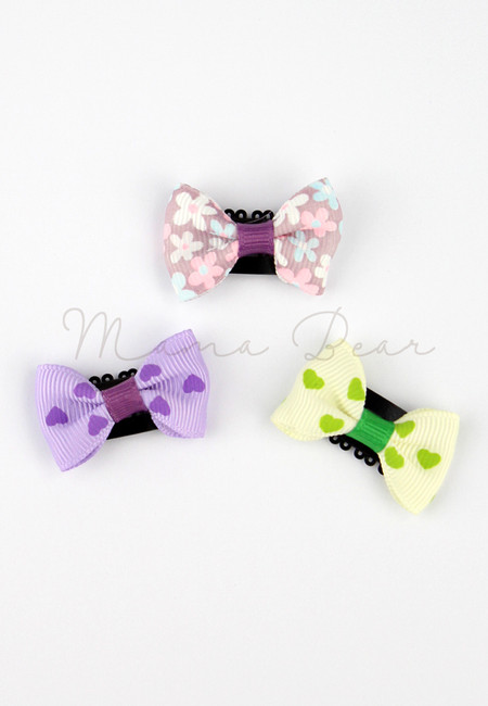 Adorable Ribbon Baby/Kids Hair Clip Set