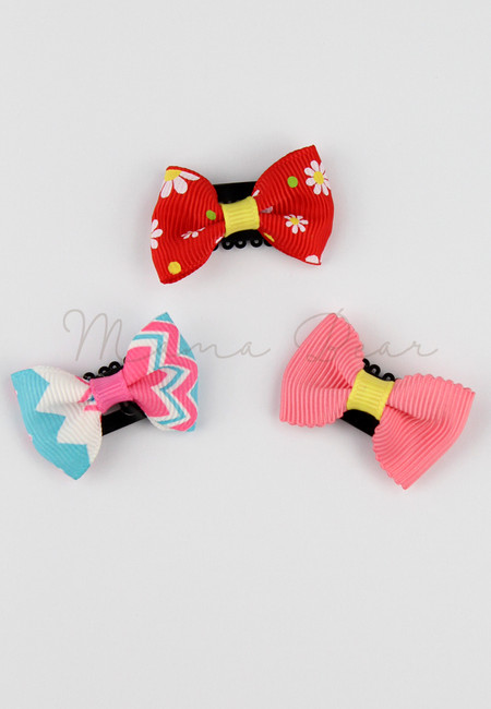 Summer Ribbon Baby/Kids Hair Clip Set