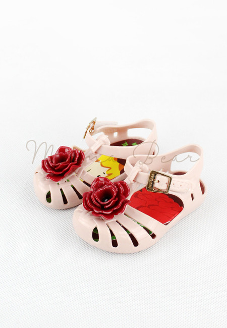 Rose Kid Scented Jelly Shoes