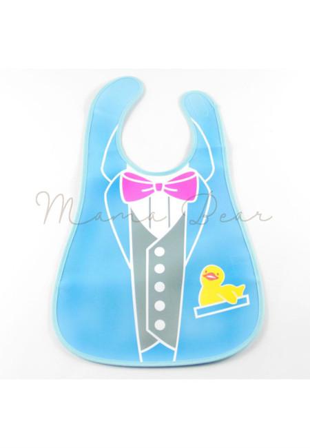 Little Vest Waterproof Baby Bib With Pocket