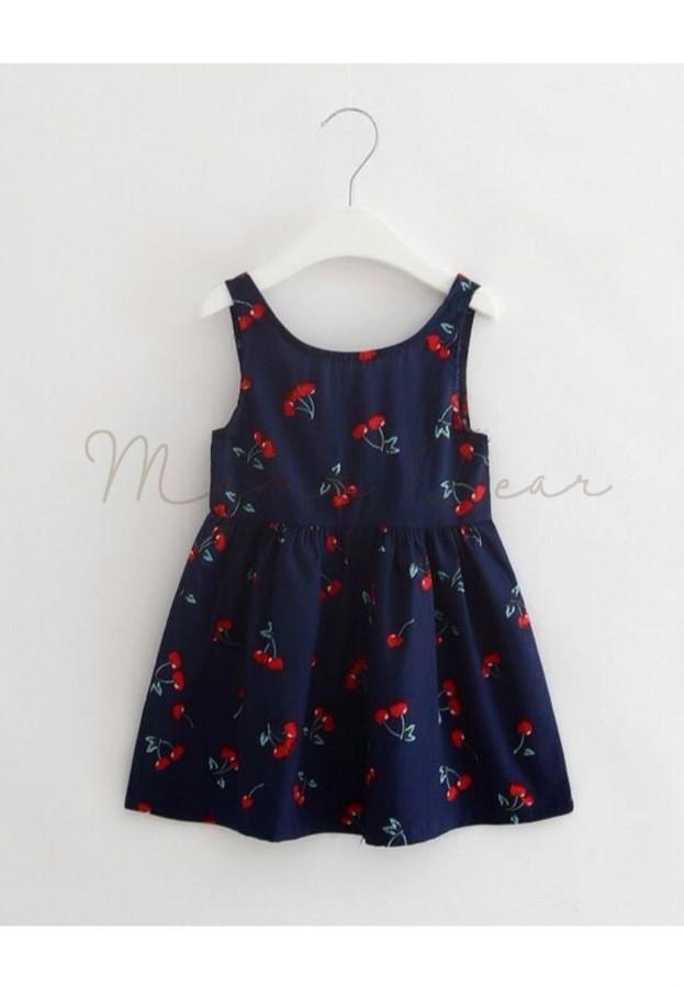 Cherry Sleeveless Dress