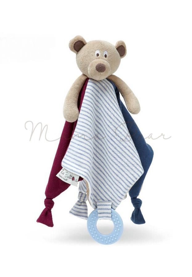 Mr Ted Comforter And Teething Blanket.