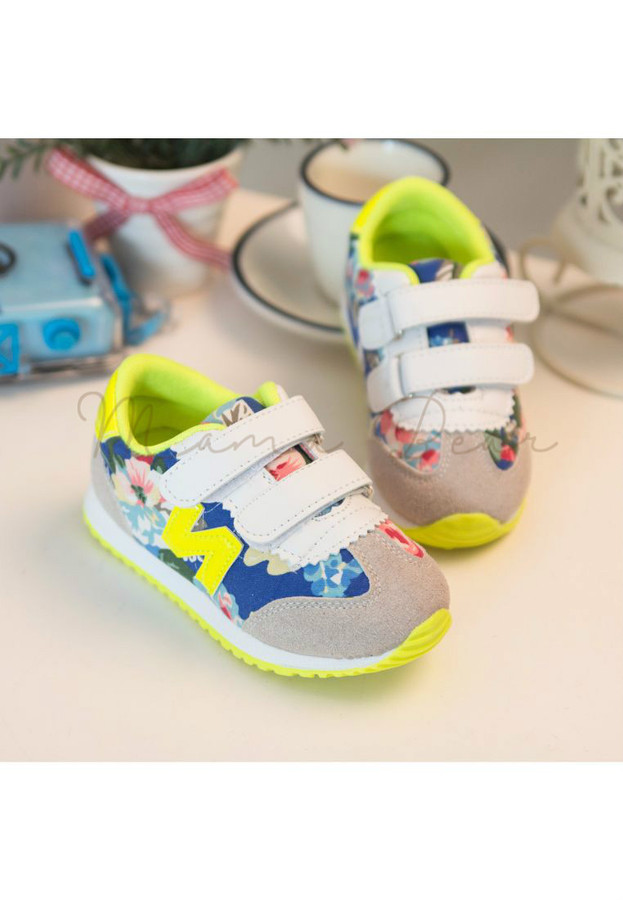 Simple Patchwork Kid Shoes