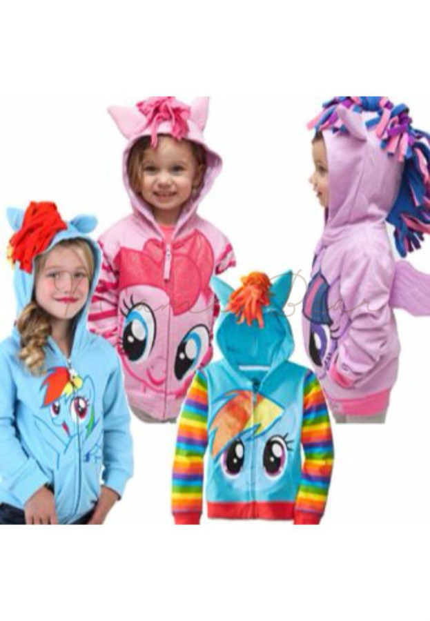 My Little Pony Zip Up Hoodie