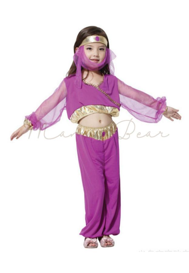 Princess Kids Dance Costume