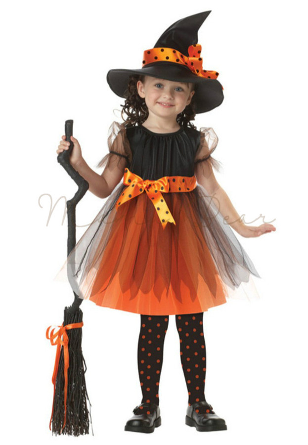 Casually come Black witch costume something