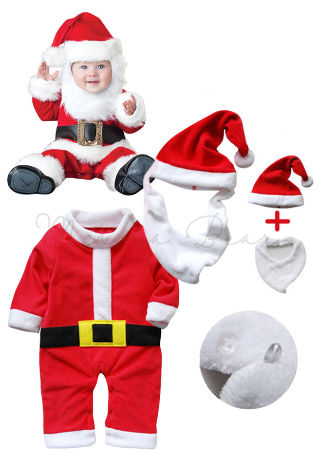 Christmas Santa Claus Costume Set