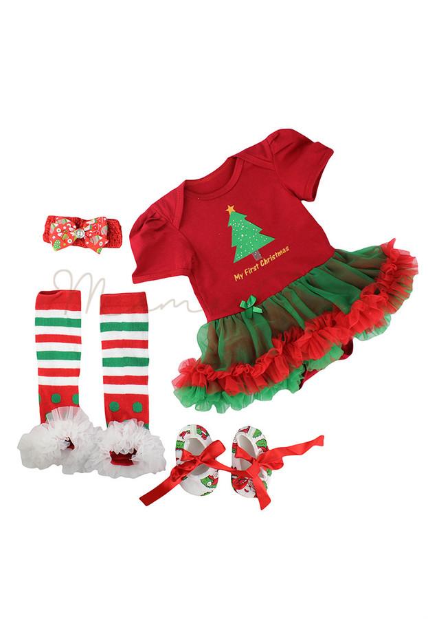 8e17bb033 MamaBear · Home · BABY GIRL · My First Christmas Baby Tutu Dress Set