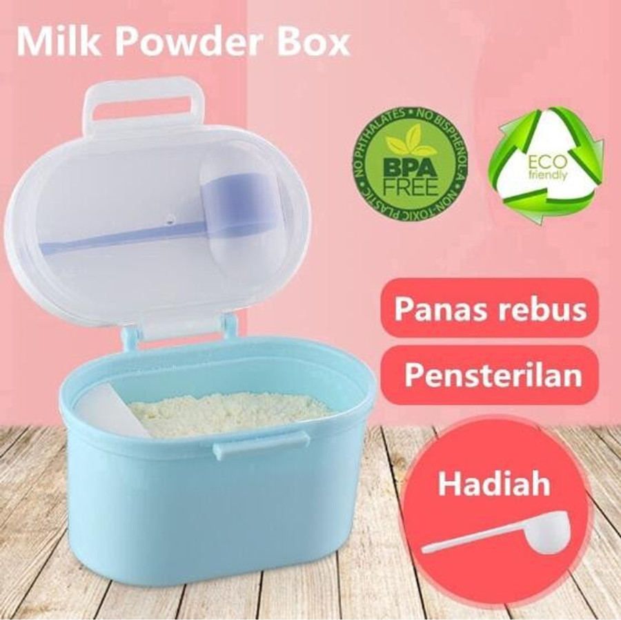 Small Baby Milk Formula Storage Container Box Portable Milk Powder